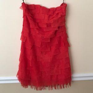 Ladies Red Twelve by Twelve Cocktail Dress Size M